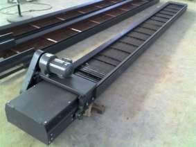 平板式链板排屑机