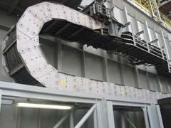 重xing钢铝拖链应用实例