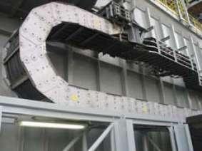 重型鋼鋁拖鏈應用實例